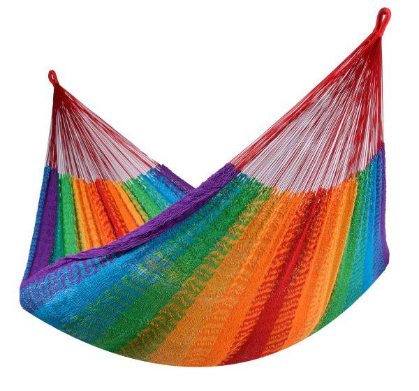 Hængekøje 2 personer Mexico Rainbow