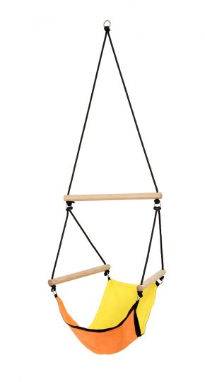 Børnhængekøjestol Swinger Yellow