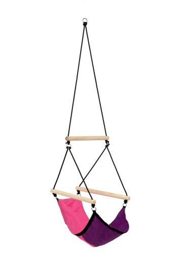 Børnhængekøjestol Swinger Pink