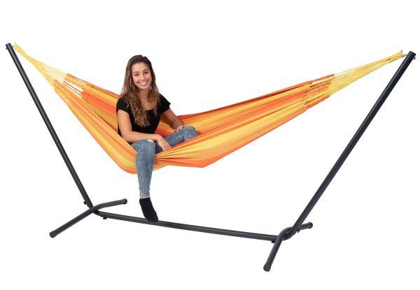 Hængekøje med Stativ til 1 person Easy & Dream Orange