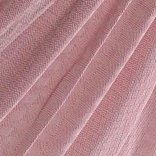 Rejsetæppe Natural Pink